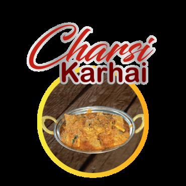 Charsi Karhai